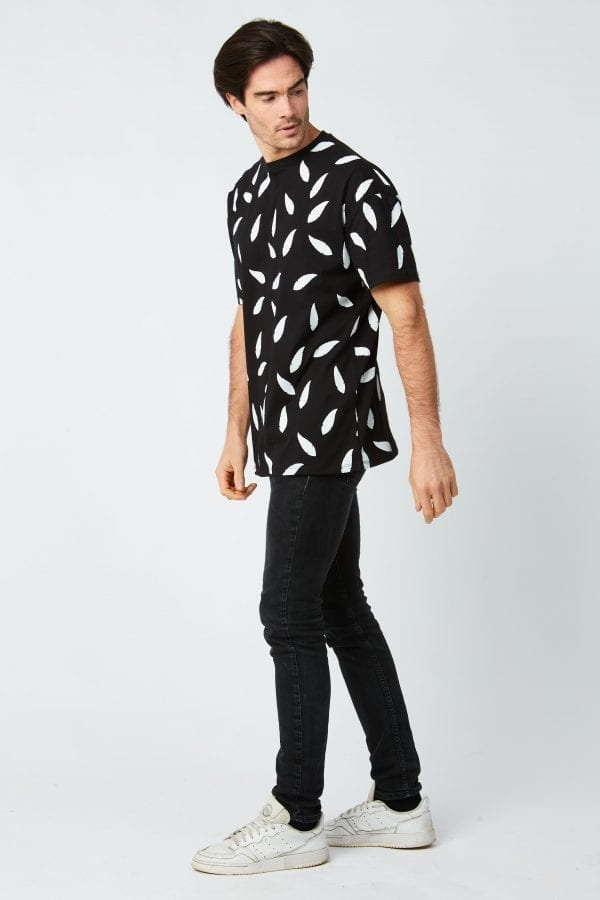 T Shirt Unisex A Plumes Blanches Shop The Look Homme